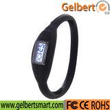 Gelbert 새로운 실리콘 접촉 디지털 스포츠 LED 시계
