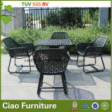 Jardín Wicker Table y Chair de Outdoor Furniture Ratan del ocio