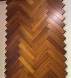 Foshan MD Kuahua natural impermeable teca real del piso de madera