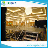 Hotel Stage mit Adjustable Height Strong Stage mit Stair
