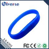 Opzioni variopinte del USB del USB di offerta della fabbrica dell'istantaneo dell'azionamento del Wristband poco costoso dei braccialetti