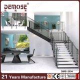 2016 Style semplice L Shape Stairs per Villa (DMS-2034)
