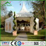 Tienda de aluminio los 5X5m de la pagoda del partido del jardín de la carpa hexagonal del Gazebo