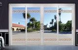 Windows en verre isolé en bois et portes avec des modèles de bâtis