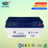 12V 65ah Rechargeable Gel Solar Power Battery for Solar System