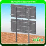 Aluminiumlegierung und Verticle Form-Zeichen-Stahlmarkierungsfahnen-Anschlagtafel