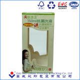 Упаковывая бумажная коробка, превосходные бумажные коробки с окном PVC