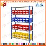 Racking di plastica della scaffalatura di memoria di scomparti del contenitore di memoria del garage del magazzino (Zhr277)