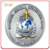 Die Cast Soft Enamel Metal Commemorative Coin