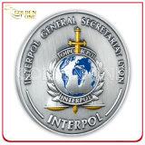 Monnaie commémorative en métal émaillé moulé sous pression