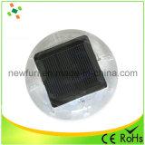 Goujon solaire de clignotement de route de plot réflectorisé du plastique DEL