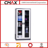 Glass Swing Door Cmax-Sc002를 가진 서류 캐비넷 Full Height 찬장