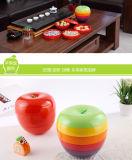 As placas 100% de Apple da melamina ajustaram o prato artístico