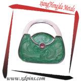 Bride de fixation chaude de sac d'émail de forme de sac de vente pour le cadeau de promotion