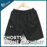 Inone 072 Mens nada Shorts ocasionais da placa das calças curtas