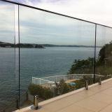 Acier inoxydable 304/316 piscine en verre clôturant la broche (HR1300V-2)