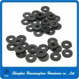 PVC de nylon arandela plástica negra/blanca de Derlin del PA de los espaciadores de los sujetadores