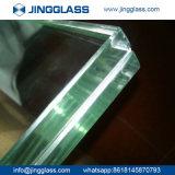 6.38mm 녹색 박판으로 만들어진 유리는 단단하게 한 방탄 박판으로 만들어진 유리를 착색했다