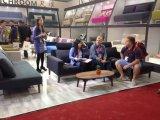Base di sofà pigra del salone pigro della mobilia