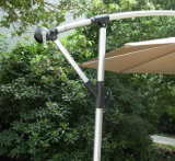 Outdoor Beach 10FT en aluminium cantilever Garden Umbrella