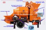 Mini bomba do cilindro do misturador concreto de maquinaria de construção