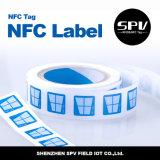 Étiquettes blanc de NFC Ntag213 13.56MHz pour le téléphone androïde