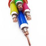 Câble minéral ignifuge souterrain de synthétique flexible de 4 faisceaux