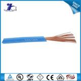 Fio eletrônico revestido do PVC da vária cor 16~28AWG UL1007