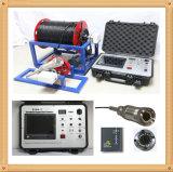 Puits d'eau sous-marin et caméra vidéo de télévision en circuit fermé d'inspection de forage