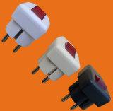 Штепсельная вилка 2 Pin с Earth&Switch (P7055)
