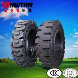el neumático sólido del lince 10X16.5, buey sólido del patín pone un neumático 10X16.5