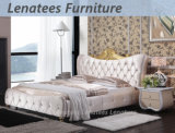Итальянка A06 конструирует кровать мебели спальни королевскую