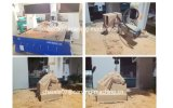 Máquina de trituração com CNC, maquinaria de Woodworking do CNC