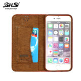 Apple iPhone 6s를 위한 우수한 PU Leather Flip Wallet 이론 Cover