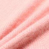 Ткань волос кролика шерстяная для шинели способа