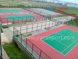 Plancher durable de court de tennis d'EPDM Itf (JRace CD002)