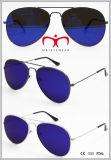 2016 óculos de sol novos do metal com lente lisa (MI160223)