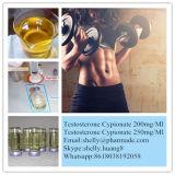 Testosterona esteroide inyectable semielaborada Cypionate 250mg/Ml para la aptitud