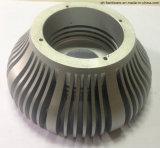 Peças de alumínio de giro do CNC para a iluminação do diodo emissor de luz