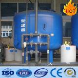 Filtro a sacco del quarzo di pressione per il trattamento di acqua di scarico