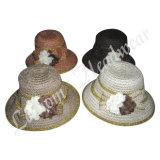 Sombreros de moda Fedora paja del verano del cubo