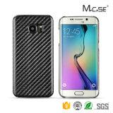 Nueva caja 2016 del teléfono de la fibra del carbón de la llegada de Mcase para el borde de Samsung S7