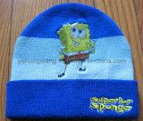 Le chapeau/chapeau tricotés du crâne du gosse de l'hiver, façonnent le Beanie chaud
