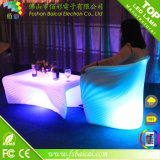 Im FreienPlastic LED Chaise Lounge Chair mit Colors Changing