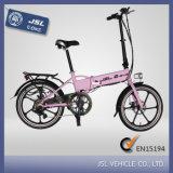 "Пинк 250W алюминиевого сплава 20 "" складывая велосипед e (JSL039BL-5)"