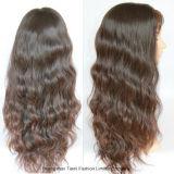"""28 de """" a peruca cheia do laço do cabelo 150% Non-Remy afrouxa a onda"""