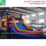 Aufblasbares kombiniertes mit kleinem Pool für Verkauf, heißer Verkaufs-kommerzielles aufblasbares kombiniertes
