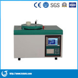 Calorimètre d'instrument de Machine-Laboratoire de test de cendre de Calorimètre-Charbon de panne de l'oxygène