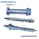 Barril de calidad superior del tornillo del PVC para la línea de transformación del PVC