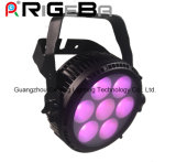 PANNOCCHIA chiara Rgbwy 5 del rasoio Q7 in un di alto potere sottile eccellente di alto potere IP65 indicatore luminoso 64 di PARITÀ dell'alluminio LED 7*25W LED mini